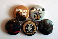 "5 x Mercury Rev 1"" Pin Button Badges ( experimental pcychedelic rock )"