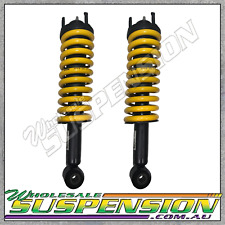 2 x FORD RANGER PX3 FRONT GENUINE FORD SHOCKS RAISED KING SPRINGS COMPLETE ASSY