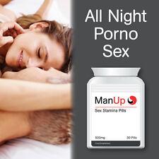 Hombre más que sexo Stamina píldora cápsulas Estrella Porno Sexo por horas toda la noche cum Duro