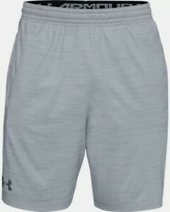 Men's Under Armour UA MK-1 Twist Shorts Grey - Fitness Gym Sports Grey - BNWT