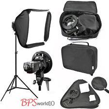 Photo 60x60cm Speedlite Softbox Studio Light S-Type Bracket Holder Bowens Mount