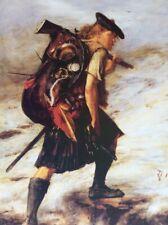 'Disbanded' Jacobite Scottish Highland Clansman. Scots warrior, Outlander, Alba