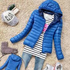 Women Ladies Coat Winter Warm Jacket Coats Thin Slim Overcoat Soft Outwear Lot