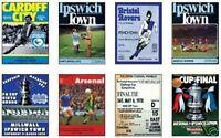Ipswich Ciudad FA Taza 1978 Programa Intercambio Tarjeta Juego