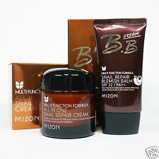 MIZON SET  All In One Snail Repair Cream  + Snail Repair Blemish Balm BB #02