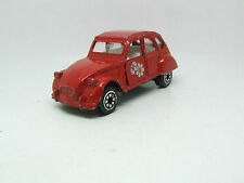 CORGI CITROEN 2CV 6 IN RED  JUNIOR SIZE