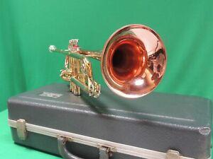 1962 Vintage COPPER🎺 CONN 17B Coprion Trumpet, Case, Conn 4 Mouthpiece