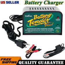 Deltran Battery Tender Plus Charger Maintainer 12V 1.25A Amps 12 Volt #021-0128