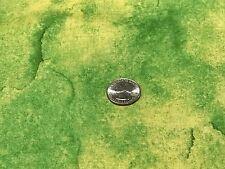Fabric African Plains Safari Green and Yellow Hues Cotton 1 Yard