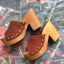 Zara Mules Block Heels for Women