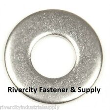 (10) M6 or 6MM Metric Stainless Steel Flat Washer A2 / 18-8 / SS 10 Pieces