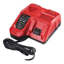 Genuine Milwaukee M12-18FC 240 V UK 18 V & 12 V Dual Batterie Lithium Rapide Chargeur