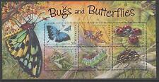 AUSTRALIA SGMS2332 2003 BUGS & BUTTERFLIES MNH