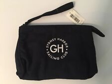 NWT Gilly Hicks by Abercrombie & Fitch Navy Blue Travel Pouch Case Wristlet Bag