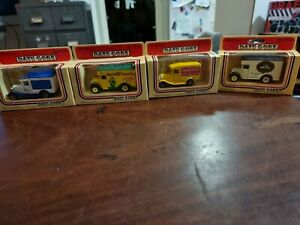 Diecast cars Days Gone By Lledo c1983 used x4