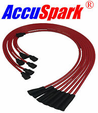 Haute performance silicone ht leads pour datsun/nissan 240z & 260z rouge carbone
