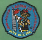 BOSTON FIRE DEPARTMENT LADDER COMPANY 29 PATCH ET PHONE HOME