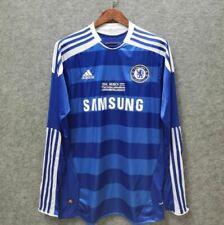 2011-12 Chelsea Long Sleeve Home Soccer Jersey