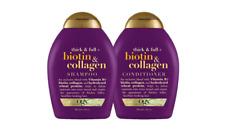 Shampoo & Acondicionador Con Biotina & Colágeno Para Reparar El Cabello Dañado