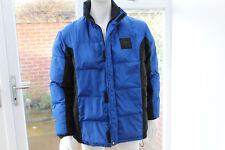 RL Ralph Lauren Polo Sport coat Puffa Blue Black Jacket Duck Down Feather XL