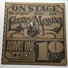 LOGGINS AND MESSINA - ON STAGE - DOUBLE (2) STEREO VINYL 2LP's EX+