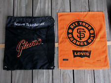 SAN FRANCISCO SF GIANTS World Champion Bag ~ Season Ticket Holder + Hand Towel