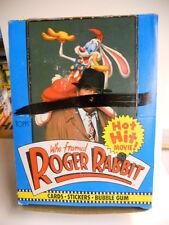 Roger Rabbit movie cards rare full 36 packs box 1981