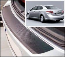 Toyota Avensis Fließheck MK3 - Carbon stil hintere Stoßstange Schutz