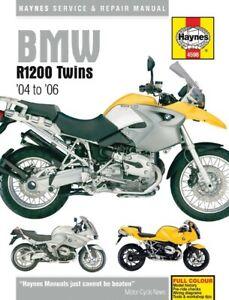 Fits BMW R 1200 GS EU 2004-2009 Manuals - Haynes