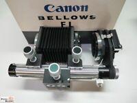 Balgengerät Canon Bellows FL mit Diakopiervorsatz, Einstellschlitten
