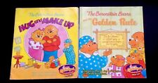 "Bearenstain Bears Lot 2 Chick-Fil-A Kids Meal Books""Hug&MakeUp""and""Golden Rule"""
