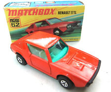 Renault 17 TL .  Matchbox 62 Superfast OVP # 104