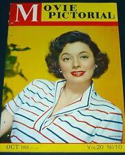 1955 Japan MOVIE MAGAZINE Ruth ROMAN Rhonda FLEMING Marilyn MONROE James DEAN