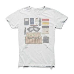 Alpinestars Motorcycle T-Shirt Frills Casual Clothing White