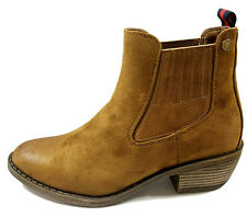 REFRESH - 72378 -Camel Brown Chelsea Boots With Elastic Sides