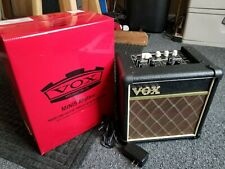 VOX MINI 5 GUITAR AMPLIFIER MODEL# MINI5-RM - POWER BATTERY OR OUTLET