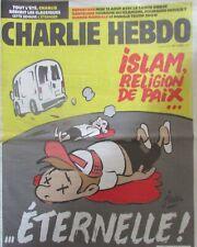 CHARLIE HEBDO No 1309 de AOÛT 2017 ISLAM RELIGION DE PAIX ÉTERNELLE !