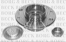BWK727 BORG & BECK WHEEL BEARING KIT fits Citroen Saxo, Peugeotg 106 - Rear
