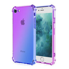 For iPhone 6 6S 7 8 Plus SE 2020 Slim Silicone Shockproof Soft Clear Case Cover