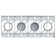 Substantial 15' Aluminum Art Deco Façade Ornaments, 5 Available, NMI162