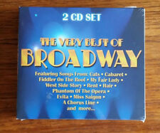 The Very Best Of Broadway 2 CD SET Sealed New Never Open