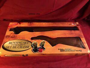 EG Edison Giocattoli Spielzeug Gewehr Schießspiele mit Gummi- Munition
