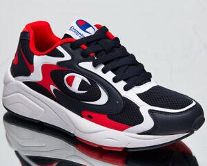 Champion Lexington 200 Men's Navy Red White Low Athletic Lifestyle Sneakers Shoe