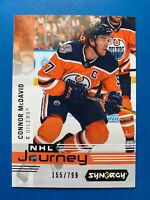 Connor McDavid Upper Deck Synergy Hockey Card #NP6 Edmonton Oilers /799