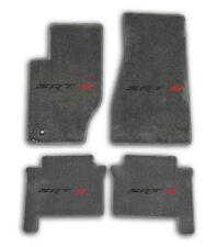 2005-2008 Jeep Grand Cherokee SRT 8 - Medium Grey Carpet 4pc Floor Mats w Logo