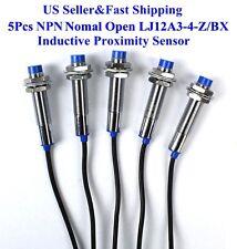5Pcs LJ12A3-4-Z/BX NPN Nomal Open Inductive Proximity Sensor Switch DC6V-36V