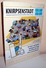 + KARTONMODELLBAU  KNIRPSENSTADT DDR  S 111 Bastelbogen