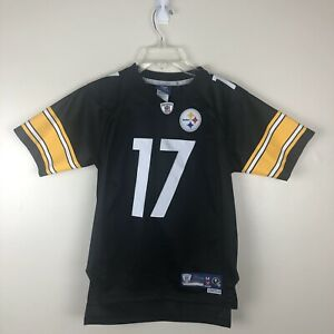Youth Mike Wallace Pittsburgh Steelers NFL Football Jersey Reebok Size Medium +2