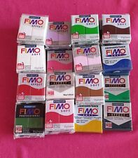 Fimo polymer clay x 31 blocks, old shop stock, closed business, wholesale