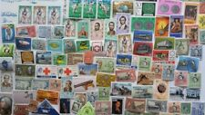 100 Different Jamaica Stamp Collection